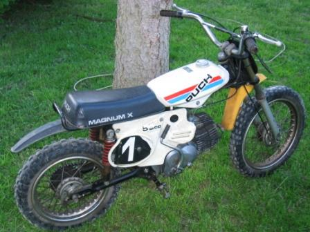 Puch - type Magnum X